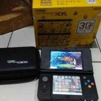Jual New 3DS Regular CFW 32 GB Super Mario 30th Edition Murah