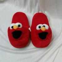 harga Sandal Rumah - Sandal Tidur Dewasa Karakter Elmo Tokopedia.com