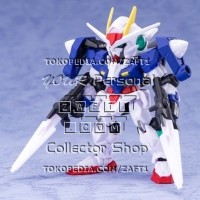 00 Gundam GN Sword II Mobile Suit Ensemble Vol 2 Gundam Gashapon Green