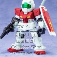 RGM-79 GM UC 0079 Mobile Suit Ensemble Vol 2 Gundam Gashapon Blue