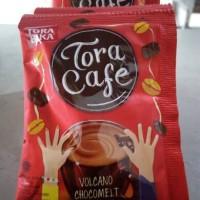 tora cafe volcano chocomelt
