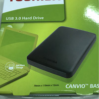 HDD Ext / Ext Hd / Hardisk External Toshiba Canvio Basic 1 TB - Black