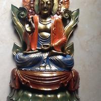 Patung Budha Sakyamuni (Sidharta Gautama) Simbol Kebahagiaan & Damai