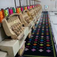Jual kain songket asli bali bordir MOTIF NEGARA Murah