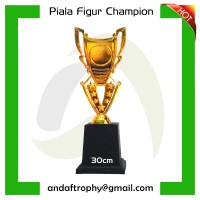 Piala/Trophy Mini Figur Champion