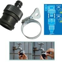 Jual Konektor selang Xhose ke keran air / sambungan kran ke selang elastis Murah