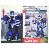 Mainan robot transformer Universe Warrior bump and go - Optimus Prime