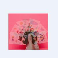 Cetak PhotoCard Kartu Foto Bahan Semi Transparan