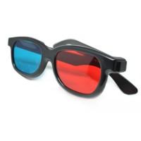 Kacamata 3D Plastik Merah Biru Film Murah