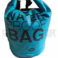 Jual Dry bag waterproof Outdoor ( Tas anti air model ransel ) 30 Liter Murah