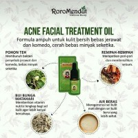 Jual NEW ROROMENDUT ACNE FACE TREATMENT OIL Murah