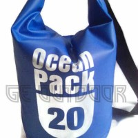 Jual Dry bag waterproof bag ( Tas anti air ) 20 Liter Murah
