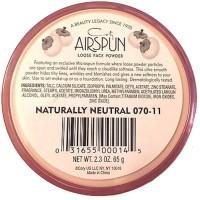 Coty Airspun Loose Face Powder Naturally Neutral