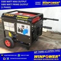 Genset / Generator Loncin 5000 Watt, Electric Starter (WP 7500E-LC)