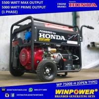 Genset / Generator Honda 5000 Watt, Electric Starter (WP 7500 E-H)