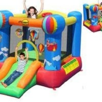 harga Happy Hop Rumah Istana Balon 9070 N Trampolin Mainan Anak 9070n Tokopedia.com