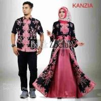 Jual Couple Batik Sarimbit Gamis Kanzia Murah