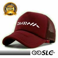 harga Topi Jaring Trucker Merah Maroon Daiwa Dt6 - Slc Tokopedia.com