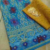 Kain Batik Prada Songket Cumi2 Set Embos