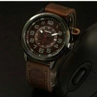 jam tangan timberland pria / jtr 918 coklat