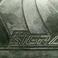 Karpet Lantai Mobil DAIHATSU SIGRA 1 Set / 5 lembar