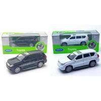 Welly 1:60 Miniatur Mobil Toyota Land Cruiser Prado