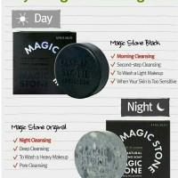 Jual Sabun magic stone black dan abu 25gr Murah