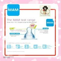 MAM Teat 1/2/3/X new, dot botol susu baby