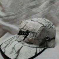 Topi 5 panel bloods distro hat