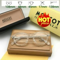 Frame Kacamata Moscot Lemtosh USA Clear Transparan Kacamata Minus Baca