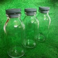 Jual Botol Asi Kaca 100 ml, termasuk bubble wrp, bisaGojek Murah