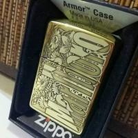 ZIPPO ARMOR JAPAN MARLBORO GOLD 5-SIDE