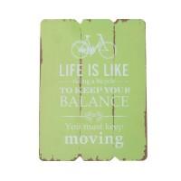 Pariaman | quotes poster frame kayu vintage wall hiasan dinding unik