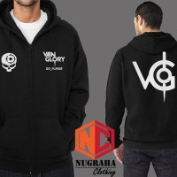 Hoodie Zipper Vain Glory - Nugraha Clothing
