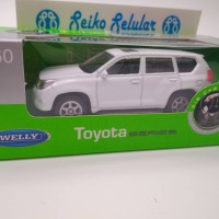 Miniatur Mobil Toyota Land Cruiser Prado Welly 1:60 Diecast