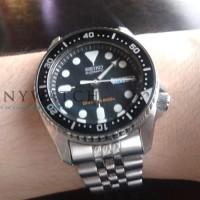 Seiko SKX013K2 Automatic Divers - Jam Tangan Pria Original