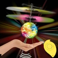 mainan remote control tangan flying ball LED musik/RC drone helicopter