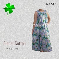 Daster floral DS 042