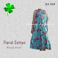Daster floral DS 039