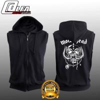 Jaket Rompi Sweater Vest Hoodie Zipper MOTOR HEAD MOTORHEAD KEREN