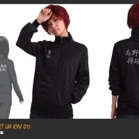Jual Jaket Anime Karasuno High Jacket (Ja Kyu 01)