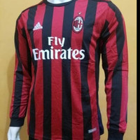Jersey AC Milan Home Longsleeve 2017/2018 Grade Ori