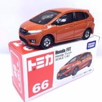 Honda FIT red no 66 Tomica Takara Tomy