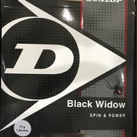 Senar Tennis Dunlop Black Widow