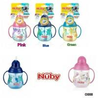 Nuby No spill Flip n Sip Twin Handle cup 9oz