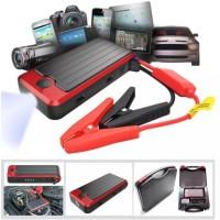 Jumper aki Portable mobil 12000mAh 12V/5V Dual USB Power Bank DY05