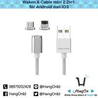 Jual [Bisa GOJEK] Wsken X-Cable Mini 2 (2in1) Magnetic Charging Cable Murah