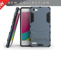 casing hp murah case oppo neo 7 a33 ironman hybrid series with kick