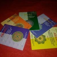Jual ABANA, Metode Efektif Belajar dan Mengajar Menulis Al-Qur'an, 5 Jilid Murah