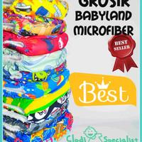 Jual GROSIR Clodi Babyland Snap Insert Microfiber [Best Seller] Murah